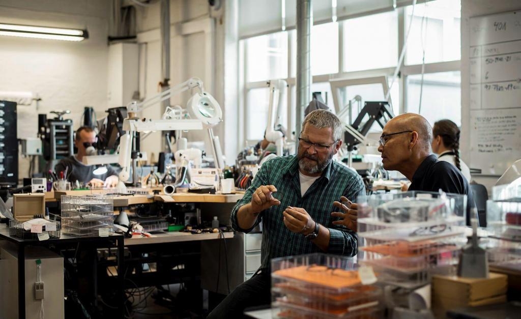 Lindberg manufacturing in Aarhus, Denmark