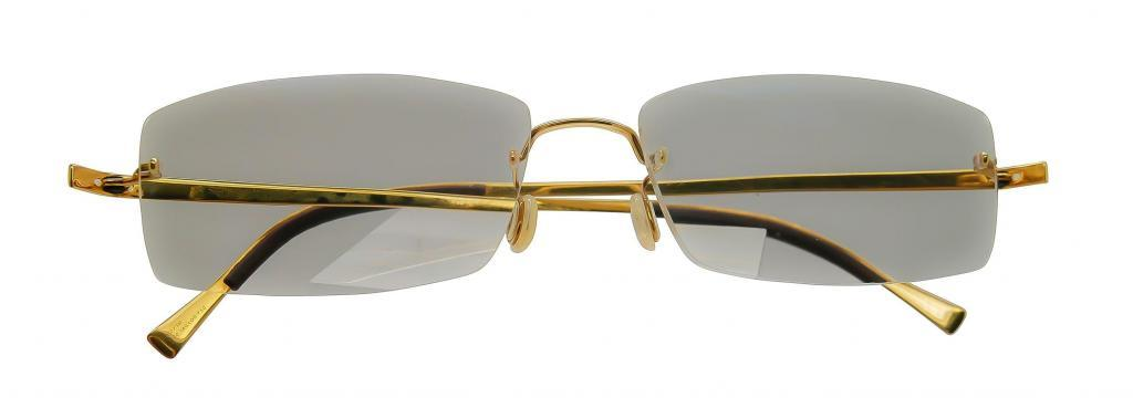 The same Lindberg glasses, after the repair