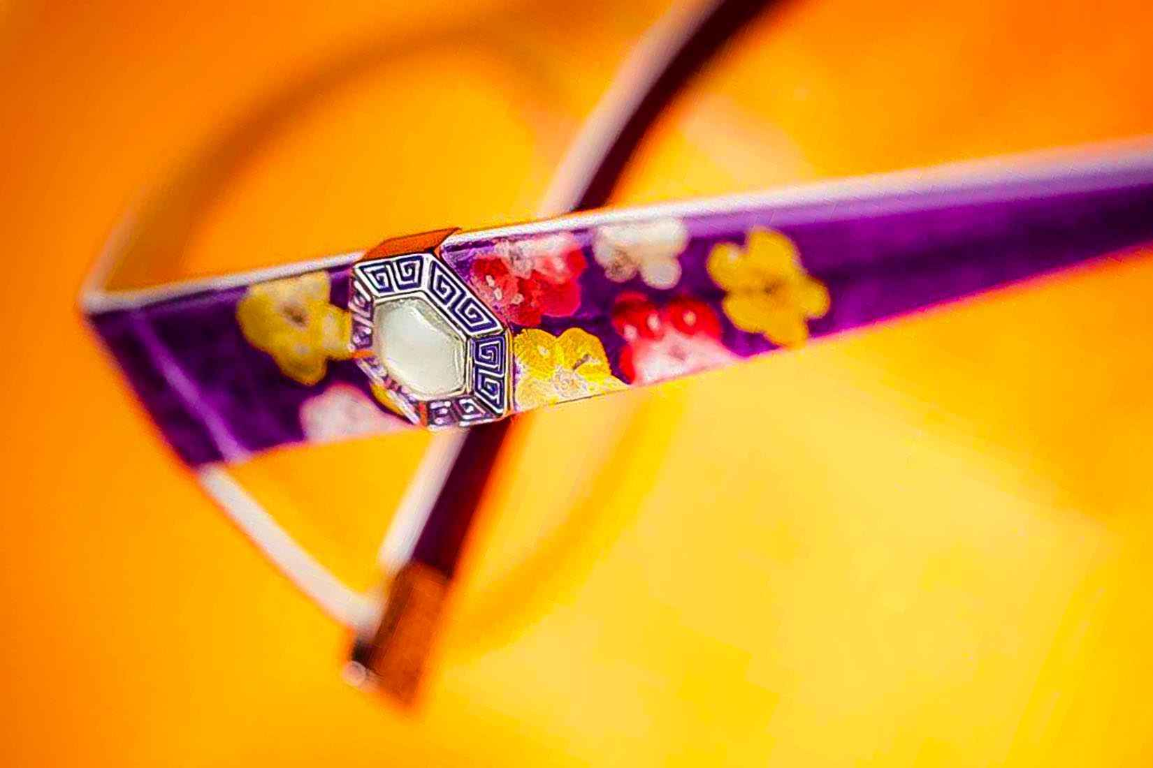 Coco Song spectacles: real flowers
