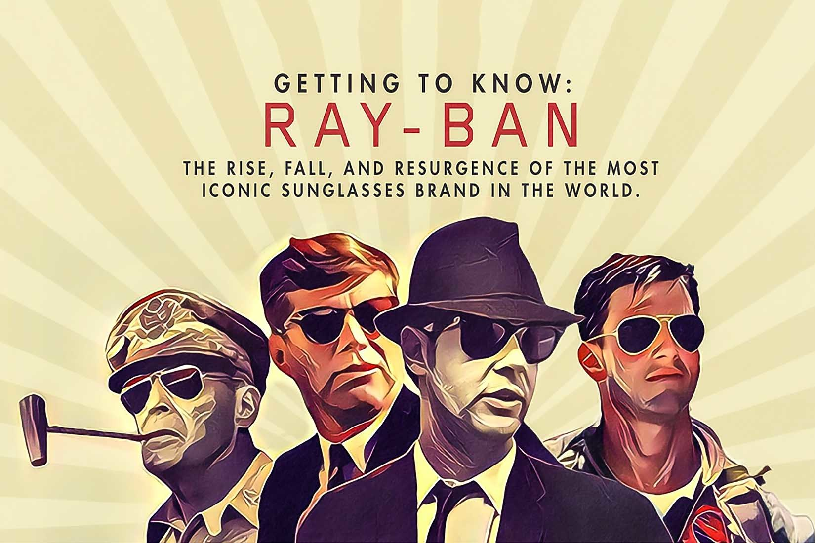Ray-Ban Sunglasses Poster Wide 1650x1100