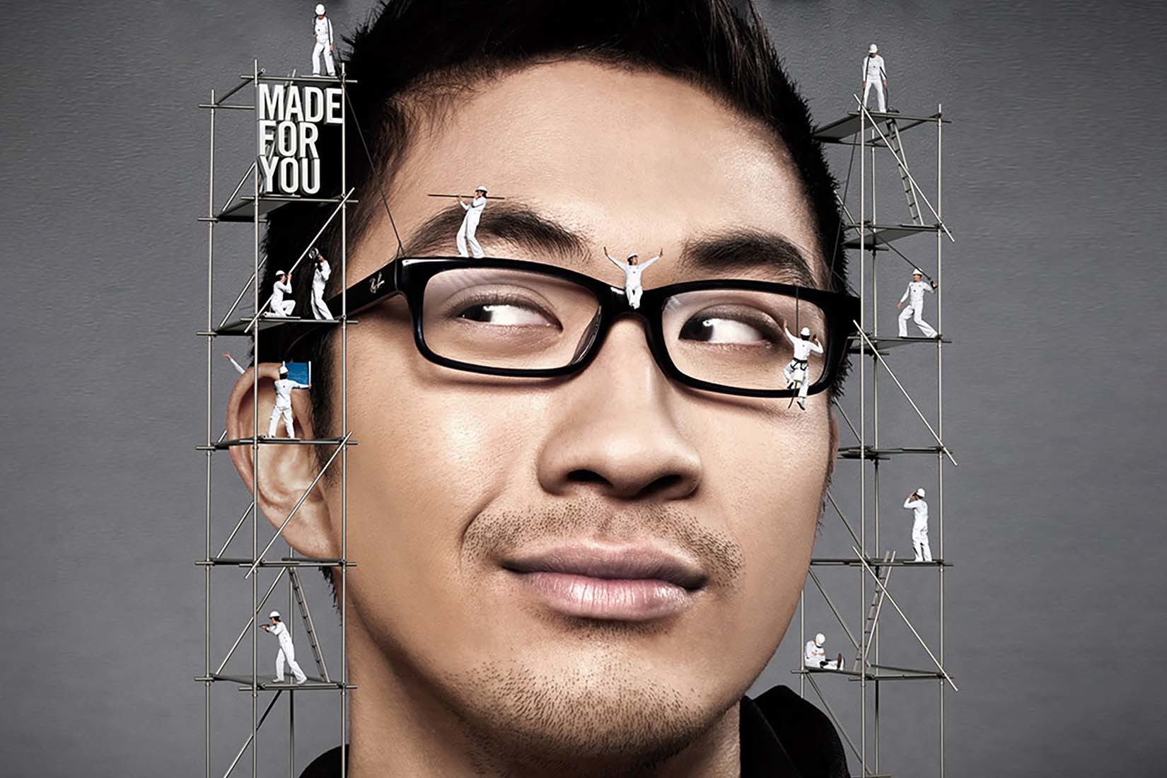 Ray-Ban spectacles Poster Guy