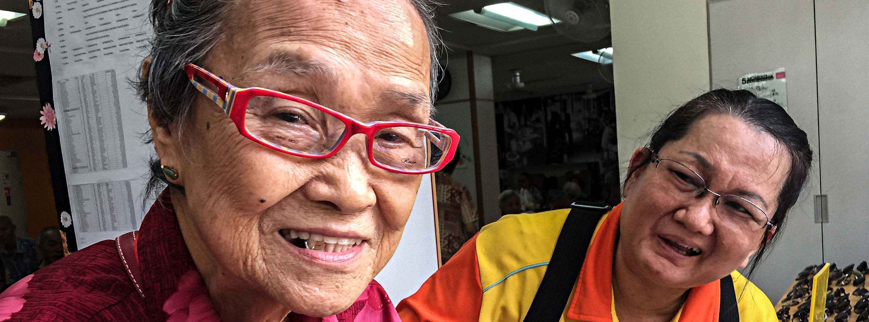 spectacles charity in Singapore, donation to needy elderly