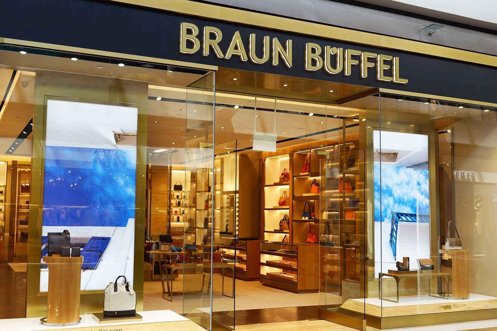 Braun Buffel spectacles: shops