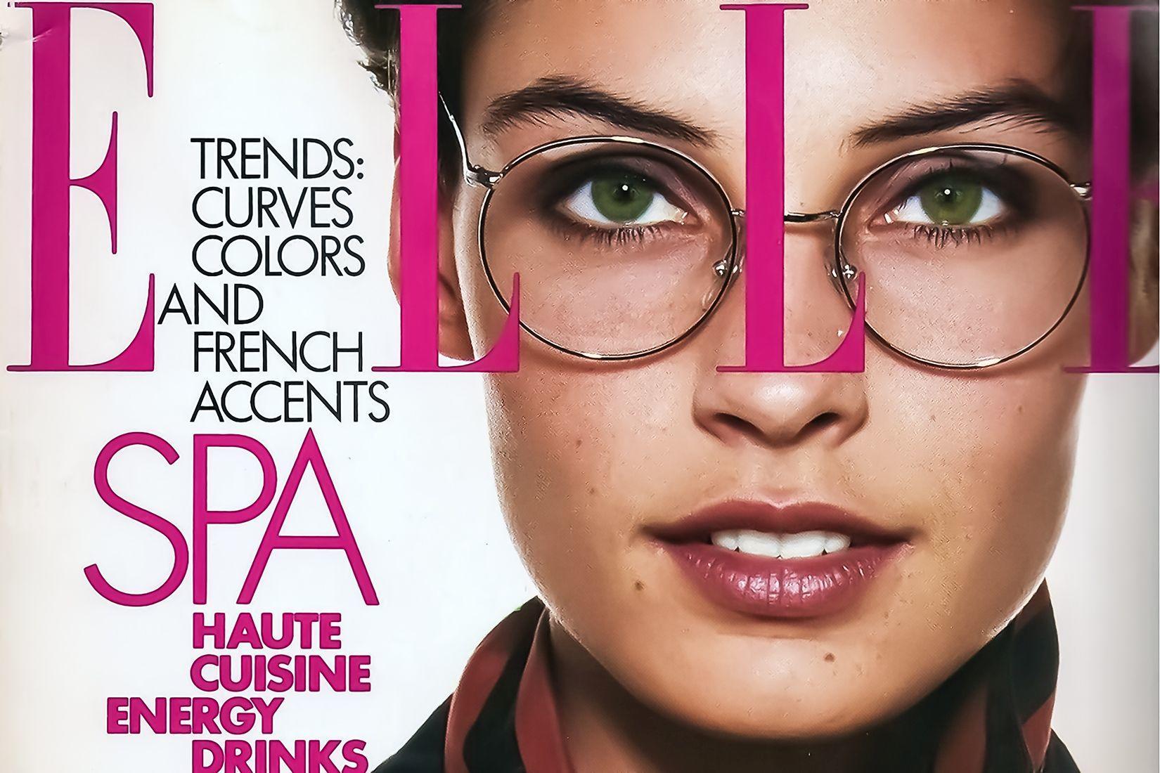 Elle Spectacles Magazine Cover 01