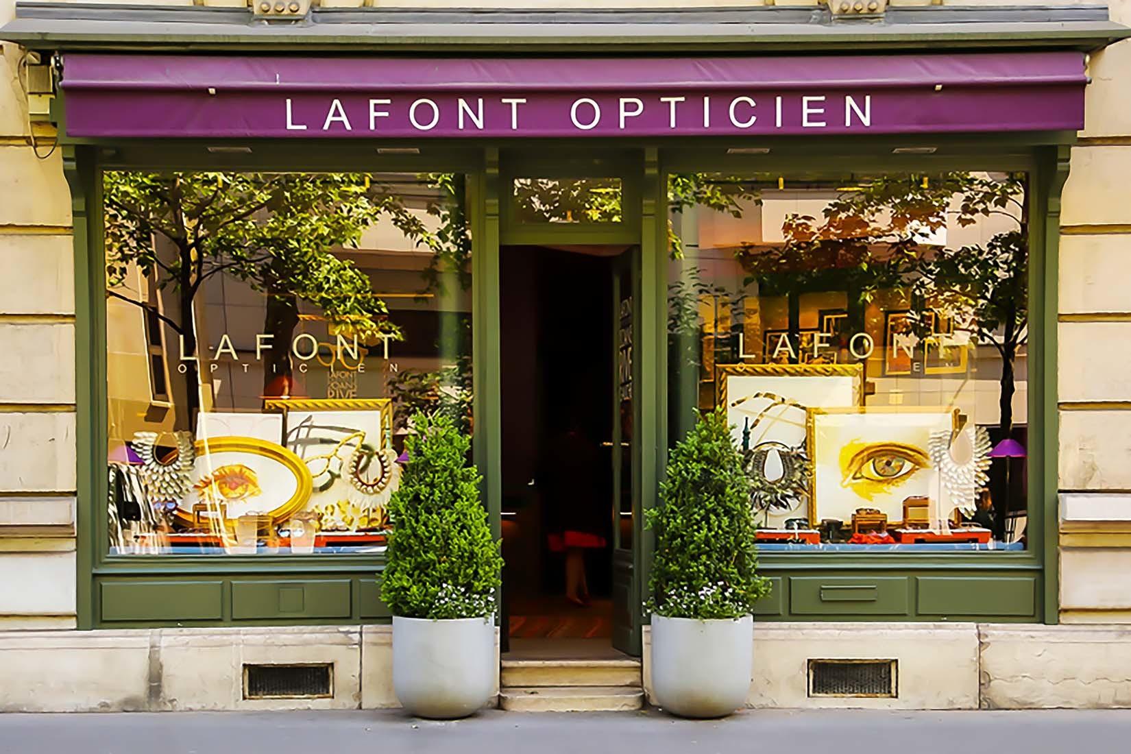 Lafont eyeglasses in Singapore