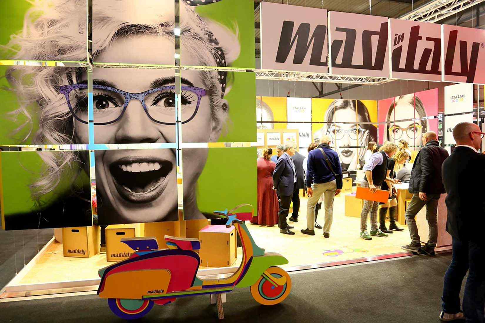 Mad-In-Italy spectacles: eyewear show