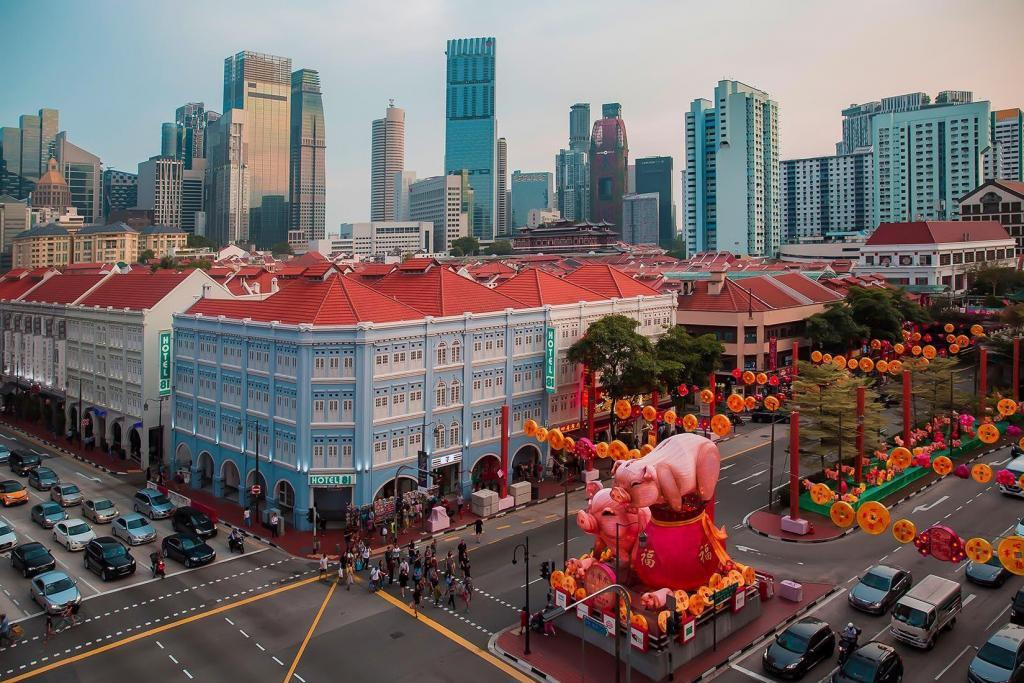 Parade for Chinese New Year 2019 in Chinatown, Singapore