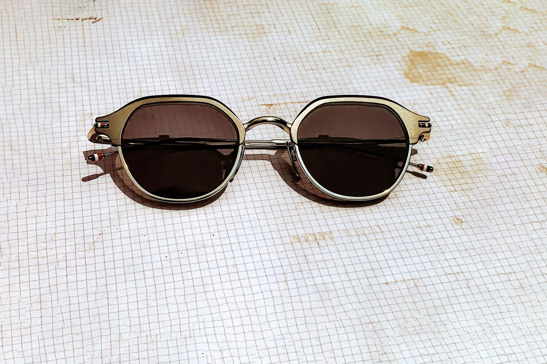 Thom Browne Fashionable Eyewear: American Design, Made In Japan
