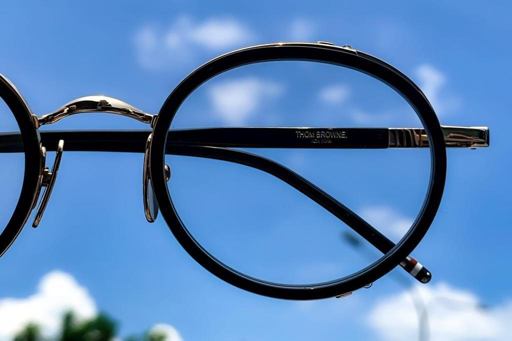 Thom Browne fashionable eyewear has timeless yet quirky appeal