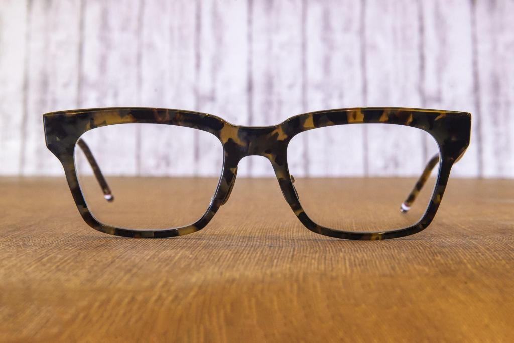 Thom Browne is available at Visio Optical